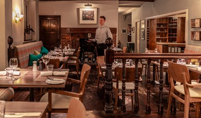 Restaurant - The Crown and Castle Orford